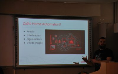 "Održano predavanje ""Home automation: Future is coming""."