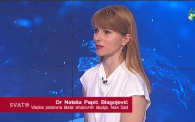 Gostovanje dr Nataše Papić – Blagojević na RTV